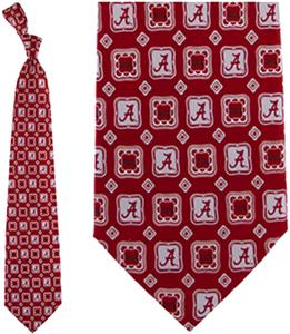 Eagles Wings NCAA Alabama Tie Medallion