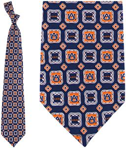 Eagles Wings NCAA Auburn Tigers Tie Medallion