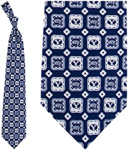 Eagles Wings NCAA BYU Cougars Tie Medallion