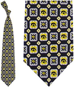 Eagles Wings NCAA Iowa Hawkeyes Tie Medallion