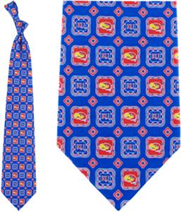Eagles Wings NCAA Kansas Jayhawks Tie Medallion