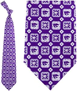 Eagles Wings NCAA K-State Wildcats Tie Medallion