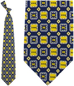 Eagles Wings NCAA Michigan Wolverine Tie Medallion