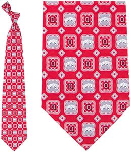 Eagles Wings NCAA Ohio State Buckeye Tie Medallion