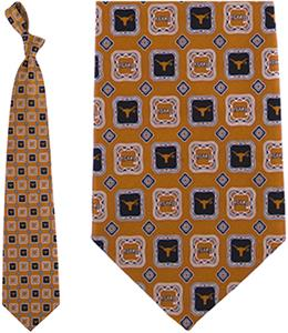 Eagles Wings NCAA Texas Longhorns Tie Medallion