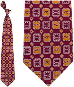 Eagles Wings NCAA Virginia Tech Tie Medallion