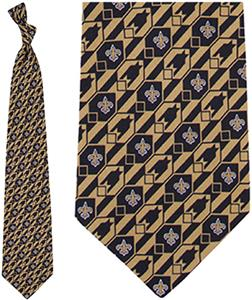 Eagles Wings NFL New Orleans Saints Nexus Silk Tie