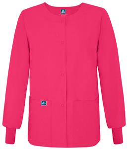 Adar Womens Warm-Up Scrub Jacket