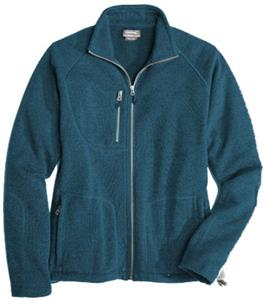 Landway Adult Ashton Sweater-Knit Fleece Jacket