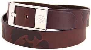 Eagles Wings NCAA Iowa Hawkeyes Brandish Belt