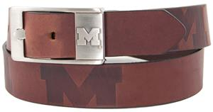 Eagles Wings NCAA Michigan Wolverine Brandish Belt