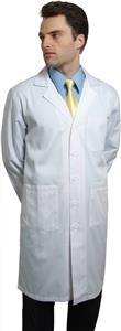 "Adar Unisex 40"" SuperTwill Lab Coat w/Midriff Back"