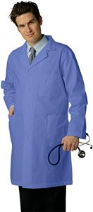 "Adar Unisex 39"" Lab Coat with Inner Pocket"
