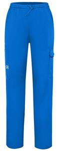 Adar Women's Natural-Rise Multi-Pocket Cargo Pants