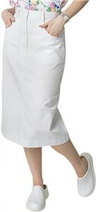 Adar Womens Knee-Length A-Line Side Pocket Skirt