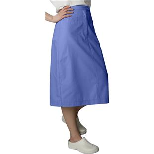 Adar Womens Mid-Calf Length Angle Pocket Skirt