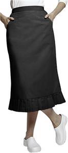 Adar Womens Pleat Flounce Skirt