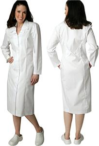 Adar Womens Double Embroidered Collar Dress