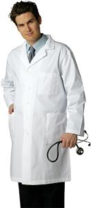 "Adar Mens 40"" Lab Coat with Inner Pocket"
