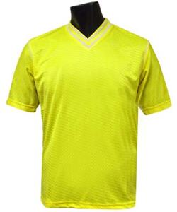 Pre-#ed FUERZA Soccer Jerseys YELLOW W/BLACK #'s