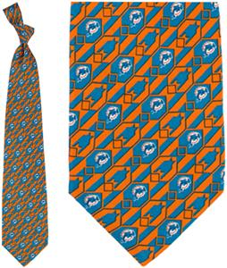 Eagles Wings NFL Miami Dolphins Nexus Tie