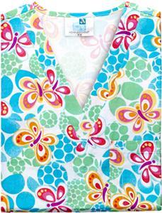 Adar Womens V-Neck Tunic Scrub Top - 205