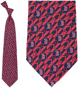 Eagles Wings MLB Boston Red Sox Nexus Tie