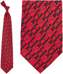Eagles Wings NCAA Arkansas Razorbacks Tie Nexus