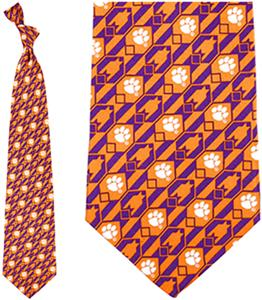 Eagles Wings NCAA Clemson Tigers Tie Nexus