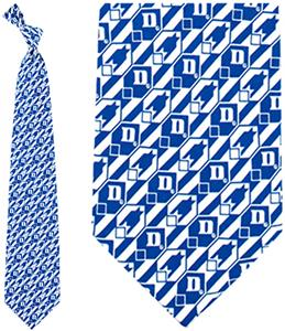 Eagles Wings NCAA Duke Blue Devils Tie Nexus