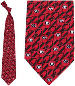 Eagles Wings NCAA Georgia Bulldogs Tie Nexus