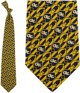 Eagles Wings NCAA Georgia Tech Tie Nexus