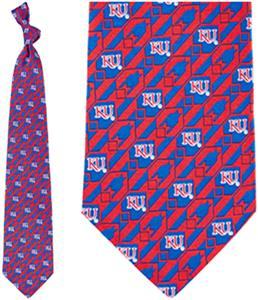Eagles Wings NCAA Kansas Jayhawks Tie Nexus