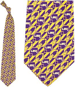 Eagles Wings NCAA LSU Tigers Tie Nexus