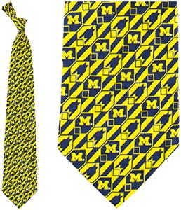 Eagles Wings NCAA Michigan Wolverines Tie Nexus