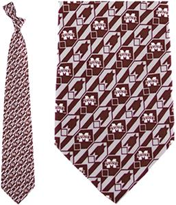 Eagles Wings NCAA Mississippi State Tie Nexus