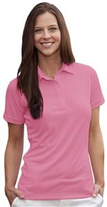 Hartwell 905 Madison Ladies Solid Jersey Pink Polo