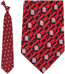 Eagles Wings NCAA NC State Wolfpack Tie Nexus