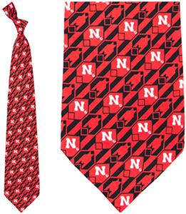 Eagles Wings NCAA Nebraska Huskers Tie Nexus