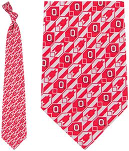 Eagles Wings NCAA Ohio State Buckeyes Tie Nexus
