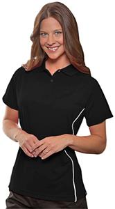 Hartwell 565 Rockdale Ladies' Raglan Polo w/Piping