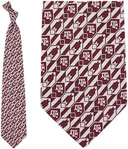 Eagles Wings NCAA Texas A&M Aggies Tie Nexus
