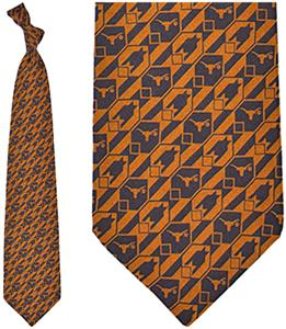 Eagles Wings NCAA Texas Longhorns Tie Nexus