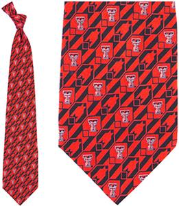 Eagles Wings NCAA Texas Tech Tie Nexus