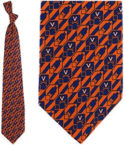 Eagles Wings NCAA Virginia Cavaliers Tie Nexus