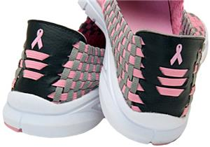 Stepinz Ultra Lite Soles Pink Ribbon Adult Shoes