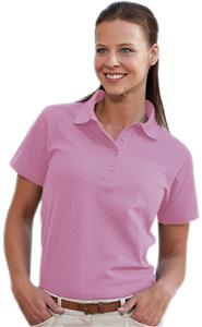 Hartwell 205 Augusta Ladies Pique Pink Polo Shirts