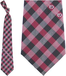 Eagles Wings NCAA S. Carolina Woven Poly Check Tie