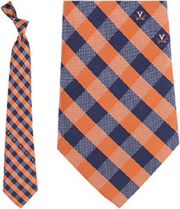 Eagles Wing NCAA Virginia Cavalier Woven Check Tie