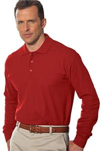 Hartwell 3012 Calhoun Mens Long Sleeve Cotton Polo